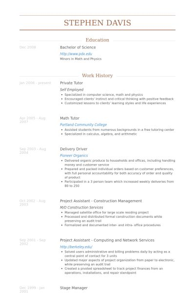 lofty design ideas tutor resume sample 12 private tutor resume