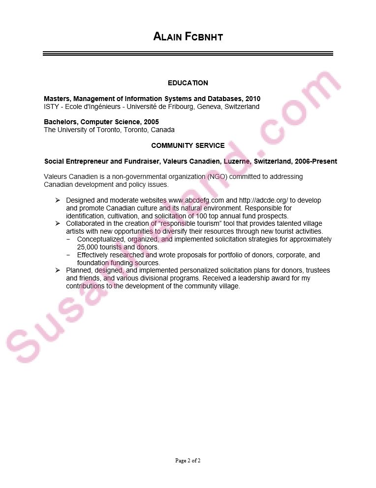 Mba Resumes Sample. kellogg mba resume samples mba resume kellogg ...