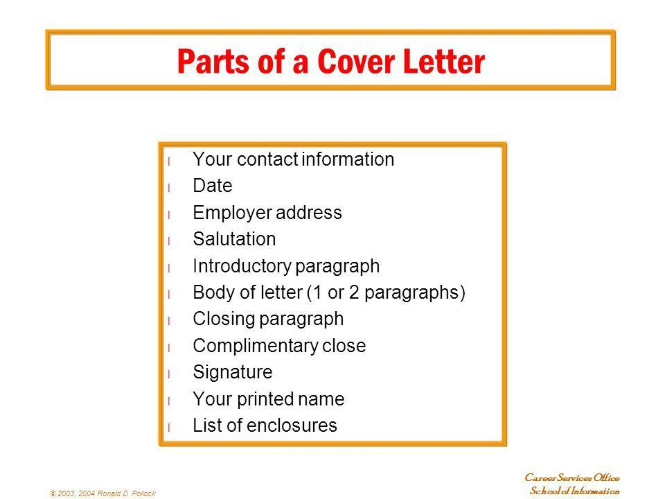 Résumés and Cover Letters Plus other Important Stuff - ppt download