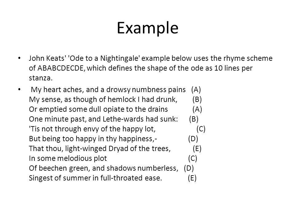 """Warm-up Quiz retake. What is an """"ode"""" and how do I write one ..."""