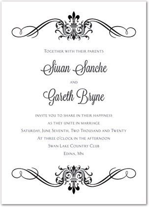 Wedding Invitation Templates, do-it-yourself and download template ...