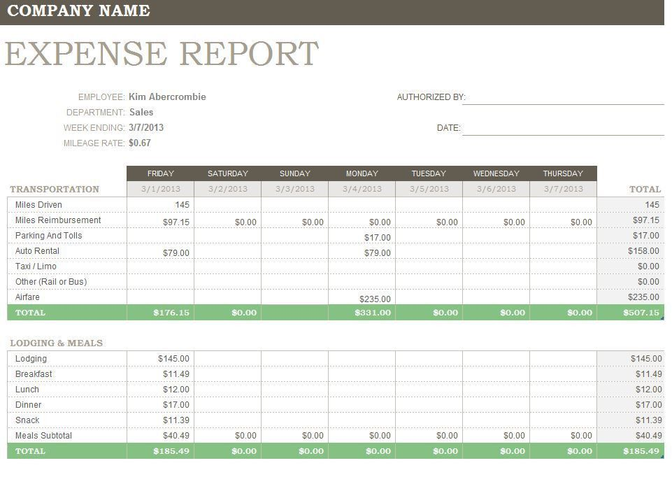 Report Template Free 2016 | Free Business Template
