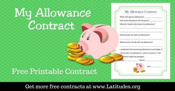 FREE Printable Behavior Contracts for Kids | ACN Latitudes