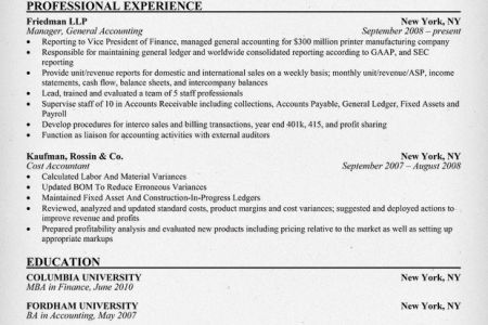 Resort Management Executive Resume Example Download Sample Resume ...