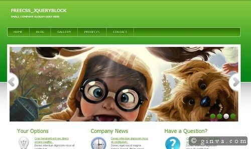 125+ Free High-Quality (X)HTML and CSS Web Layout Templates | Ginva