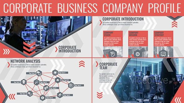 Corporate Business Company Profile by sorok7 | VideoHive