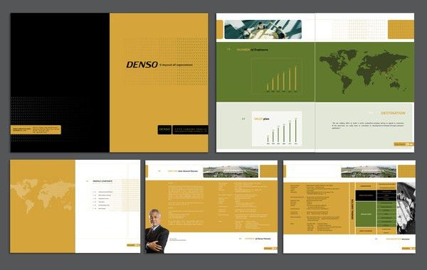 Company Profile Template. | Excel Project Management Templates For ...