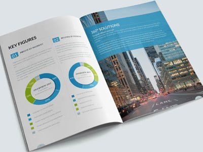 Annual Report by Andrea Maisenbacher - Dribbble