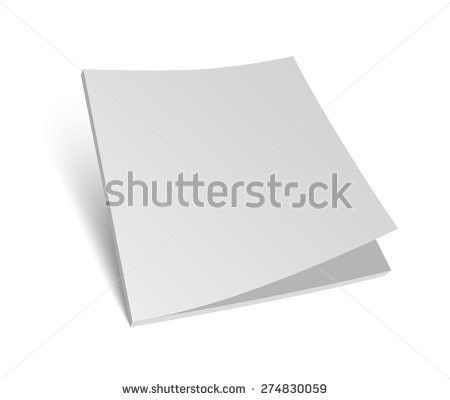 Blank Brochure Cover Stock Images, Royalty-Free Images & Vectors ...
