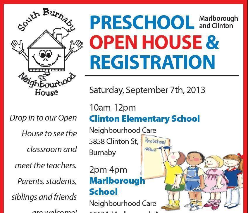 7 Best Images of Preschool Open House Flyer Template - School Open ...