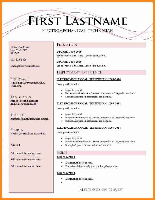 resume format 2017. 221png 12411740. resume 2016 latest resume ...