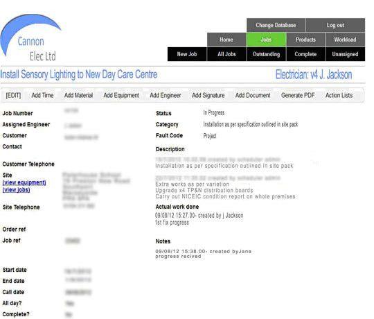 SmartsheetJob Sheet Example. Sheet Template Construction Daily ...