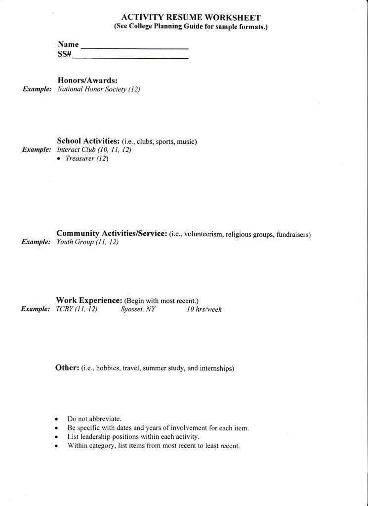 Lofty College Application Resume 15 Sample College Resume - Resume ...