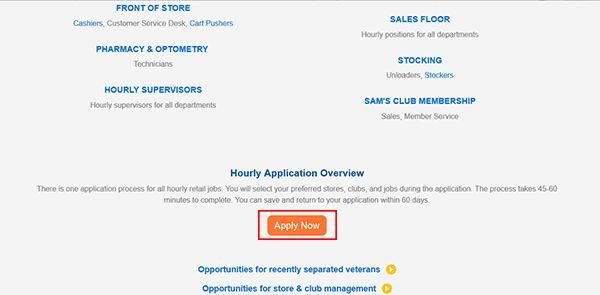 Sam's Club Job Application - Adobe PDF - Apply Online