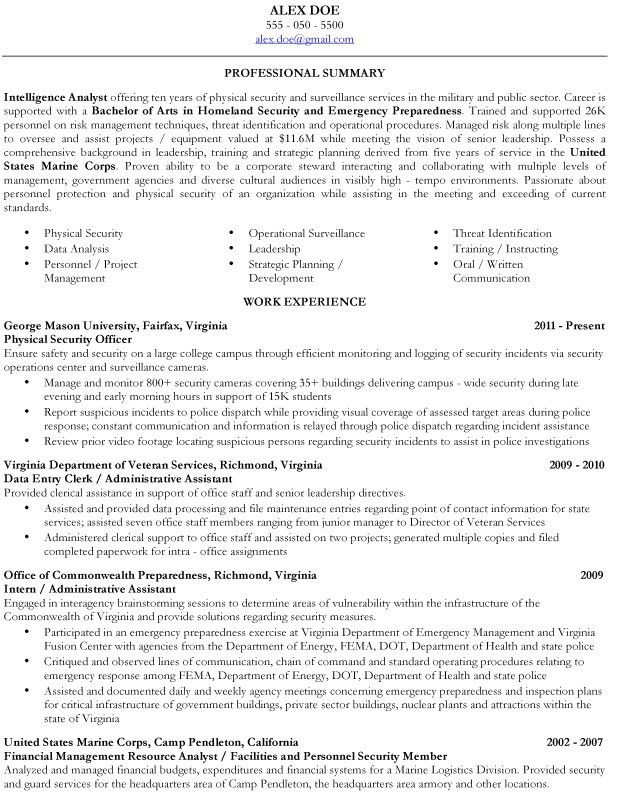 fantastic veteran resume 12 military resume samples resume example - Military To Civilian Resume Template
