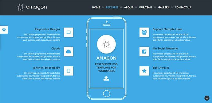 34 Responsive Landing Page Templates That Convert | Web & Graphic ...