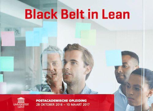 belt in lean training program recently kicked off eurolean ...
