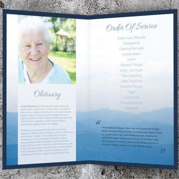 8+ Memorial Card Templates - PSD, PDF Format Download