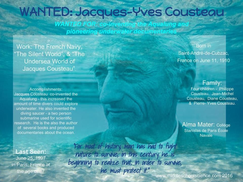"""Famous Scientists """"Wanted Poster"""" Using Google Draw – Middle ..."""