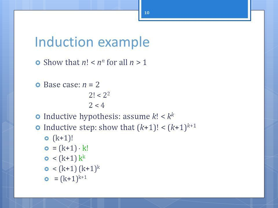 Mathematical Induction And Recursion Discrete Math Team KS ...