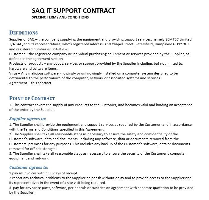 Supply Agreement Contract. Petroleum Supply Contract Template Free ...