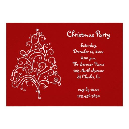 Christmas Lunch Invitation Wording