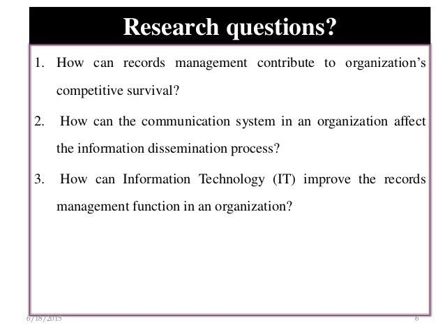 Sample research proposal presentation power point