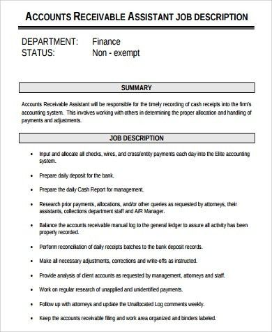 Accounting Manager Job Description. Job Brief Accounting Manager ...