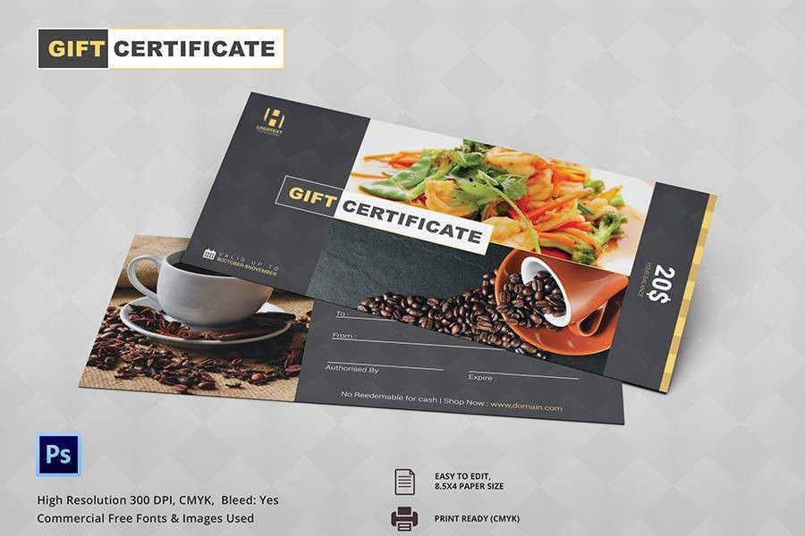 7+ Free Gift Certificate Templates - Birthday, Business, Spa ...