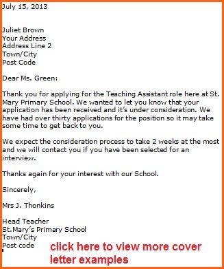 7+ sample application job letter for a teacher - Budget Template ...