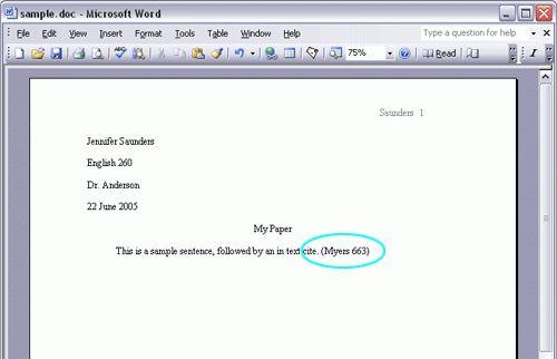 Mla citation essay - our work