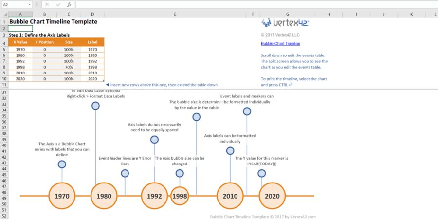 Every Timeline Template You'll Ever Need (the 18 Best Templates)