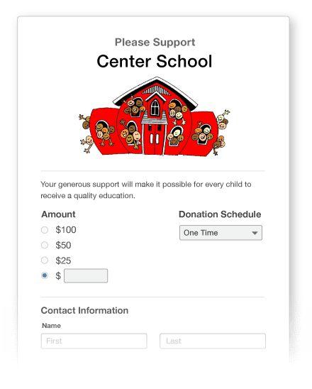Online Donations • Little Green Light