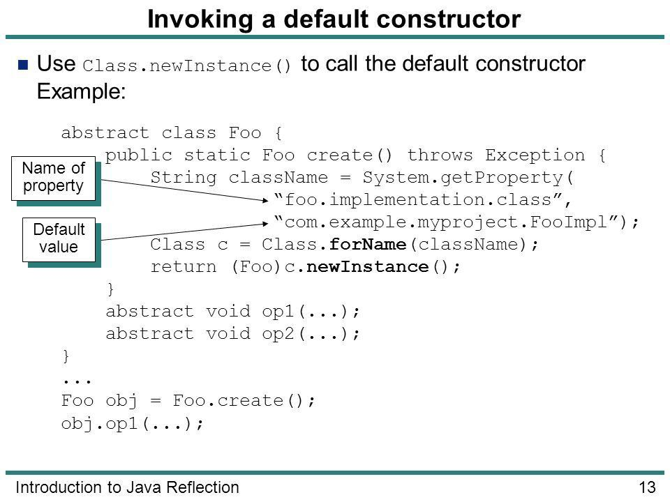 Introduction to Java Reflection - ppt video online download