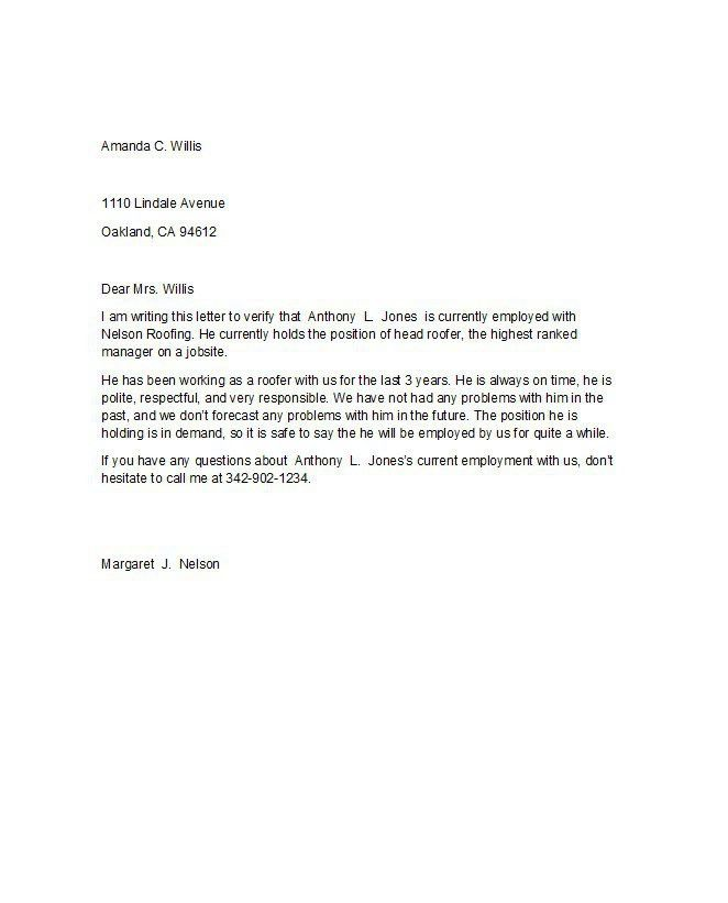 Download Employment Proof Letter | haadyaooverbayresort.com