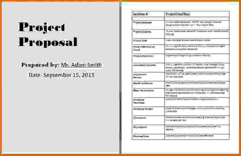 project proposal template wordReference Letters Words | Reference ...
