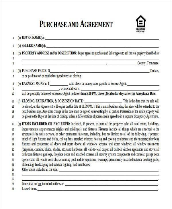 7+ Business Purchase Agreement Form Samples - Free Sample, Example ...