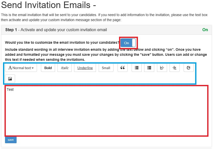 How to - Invite a Candidate using an email template - Interviewer ...