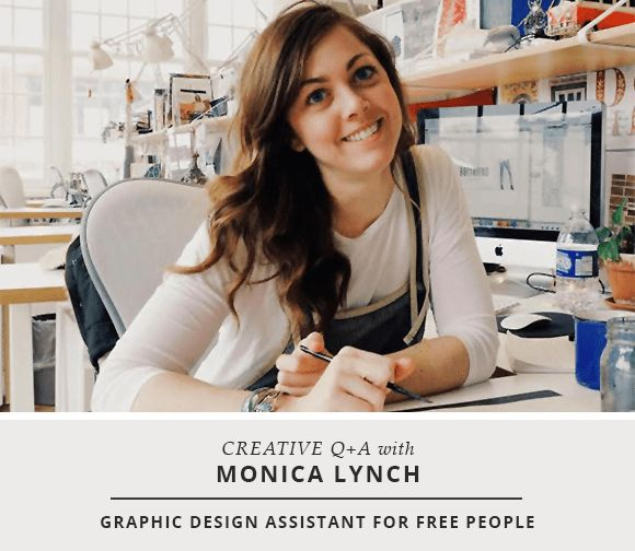 Creative Q+A: Monica Lynch / Free People | Holly Marie Designs