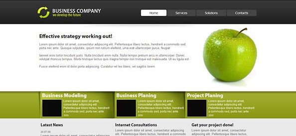 Free CSS Templates, Business Templates, Corporate Templates ...