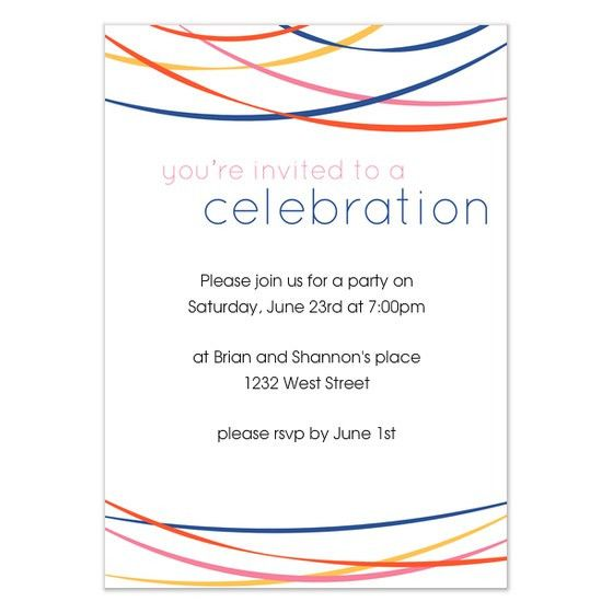 you're invited to a celebration, Invitations & Cards on Pingg.com