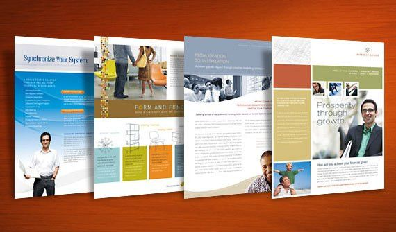 Lots of newsletter, flyer, brochure, and business card template ...