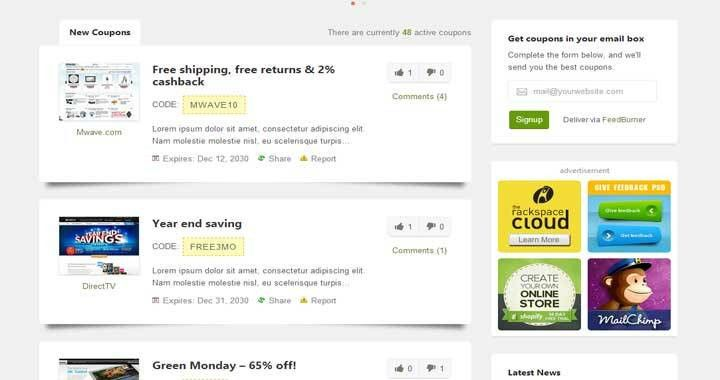 13+ Best WordPress Coupon Themes 2017 to Earn Online