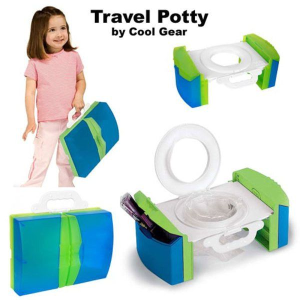 Travel Potty Chair - Portable with Handles and Storage | Potty ...