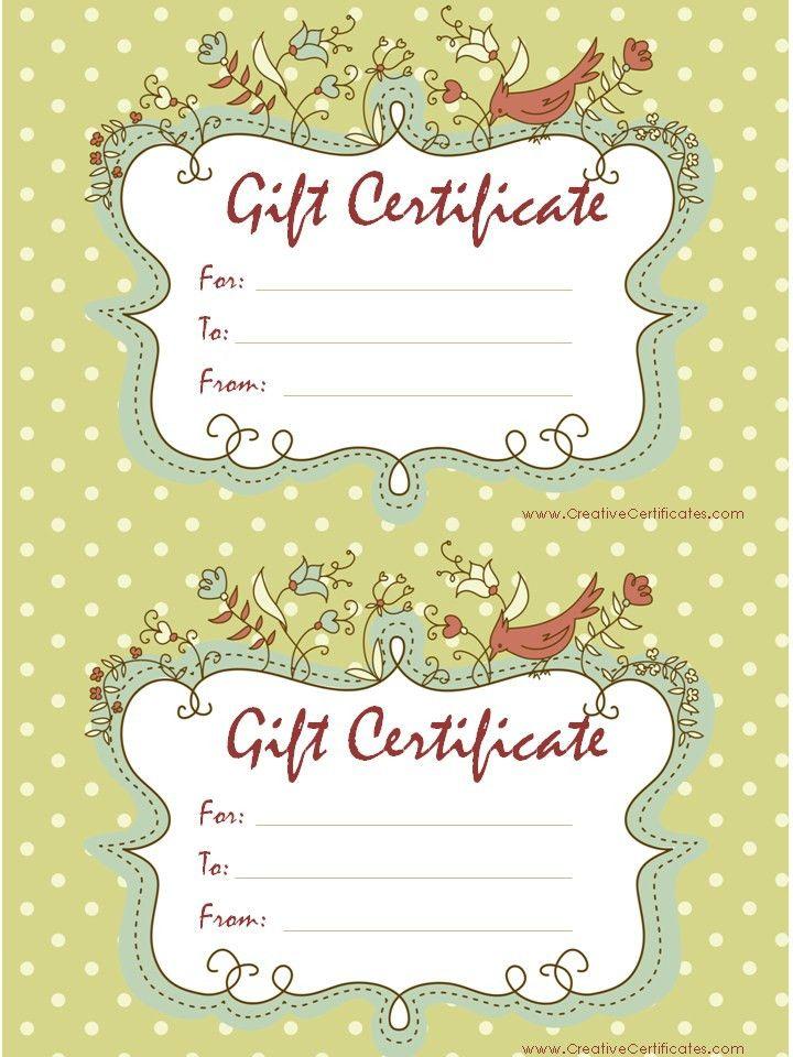 Birthday Gift Certificate Clipart (38+)