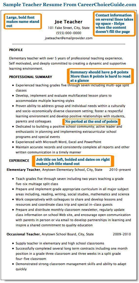 86 best Find a job images on Pinterest   Teaching resume, Resume ...