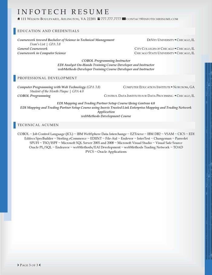 cobol programmer resume analyst programmer resume samples