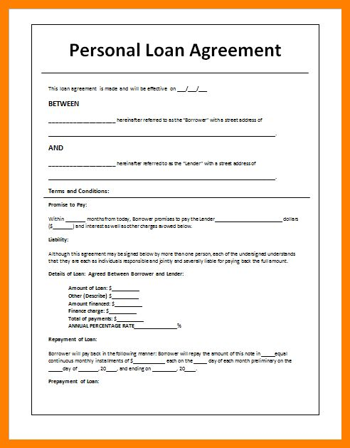 9 best images of payment plan agreement letter template booking ...