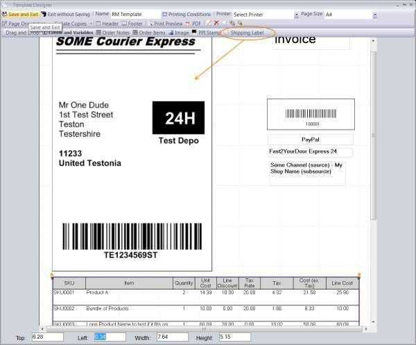 Royal Mail Integrated Invoice Labels - Linnworks Documentation