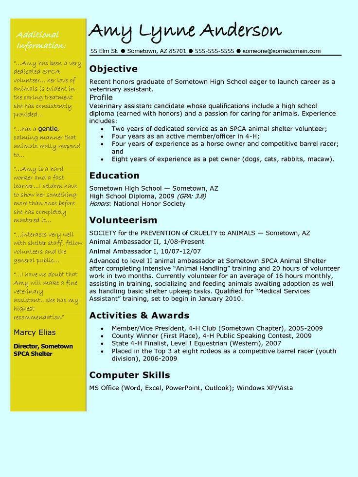 4220 best Job Resume format images on Pinterest | Job resume ...
